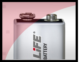 Ultralife Lithium 9 volt Battery