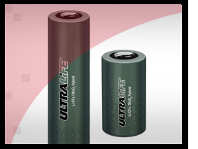 Ultralife Manganese dioxide cylindrical cells